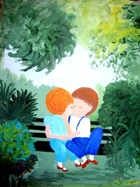 personalized fairy tale paintings for kids from stoneys village toy shoppe - Painting Pics For Kids